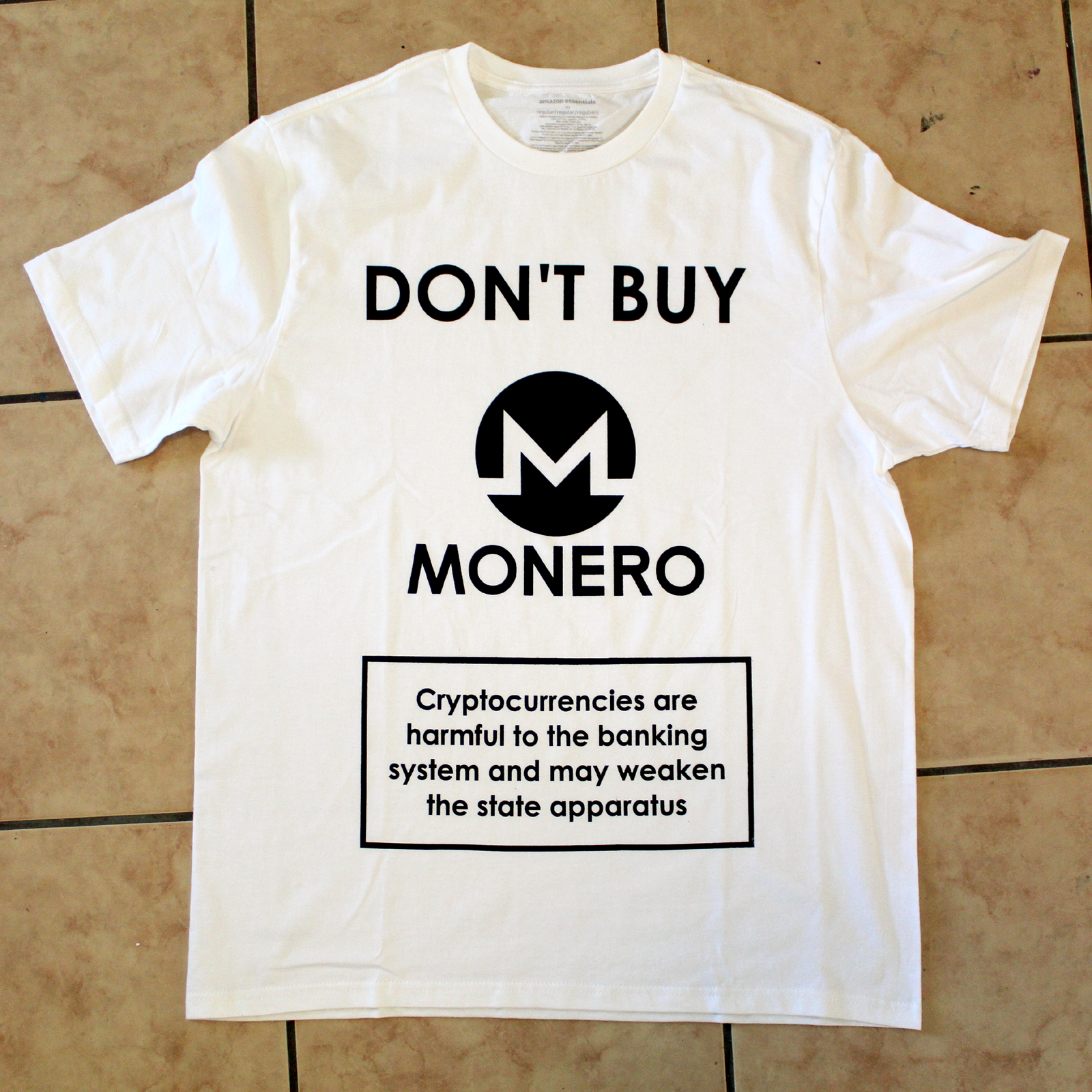 Don't Buy Monero