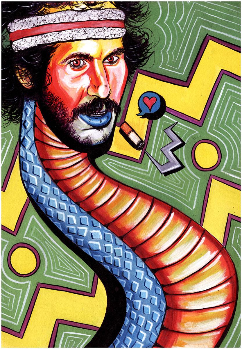 Mark The Cobra Snake