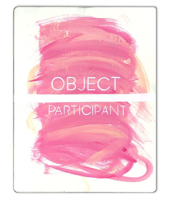 object/participant